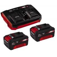 Аккумулятор + зарядное Einhell Twincharger Kit 2x 3,0Ah (4512083)
