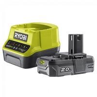 Аккумулятор + зарядное Ryobi RC18120-120 2А ONE+