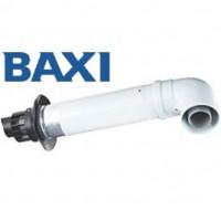 Труба коаксиальная конденсационная в комплекте с уголком 90 Baxi CK-LN 01