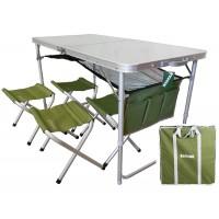 Комплект мебели Ranger складной, стол + 4 стула