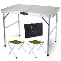 Комплект мебели Ranger складной, стол + 2 стула