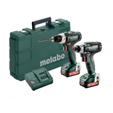 Шуруповерт аккумуляторный + гайковерт Metabo Combo Set 2.7.1 12 V (685166000)