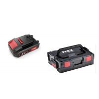 Аккумулятор + кейс Flex L-TKL 136, AP18.0/2,5