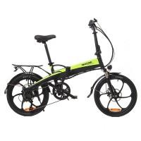 Электровелосипед Maxxter RUFFER (black-green)