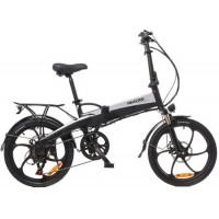 Электровелосипед Maxxter RUFFER (black-silver)