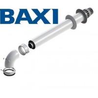 Труба коаксиальная в комплекте с уголком 90 Baxi CK01